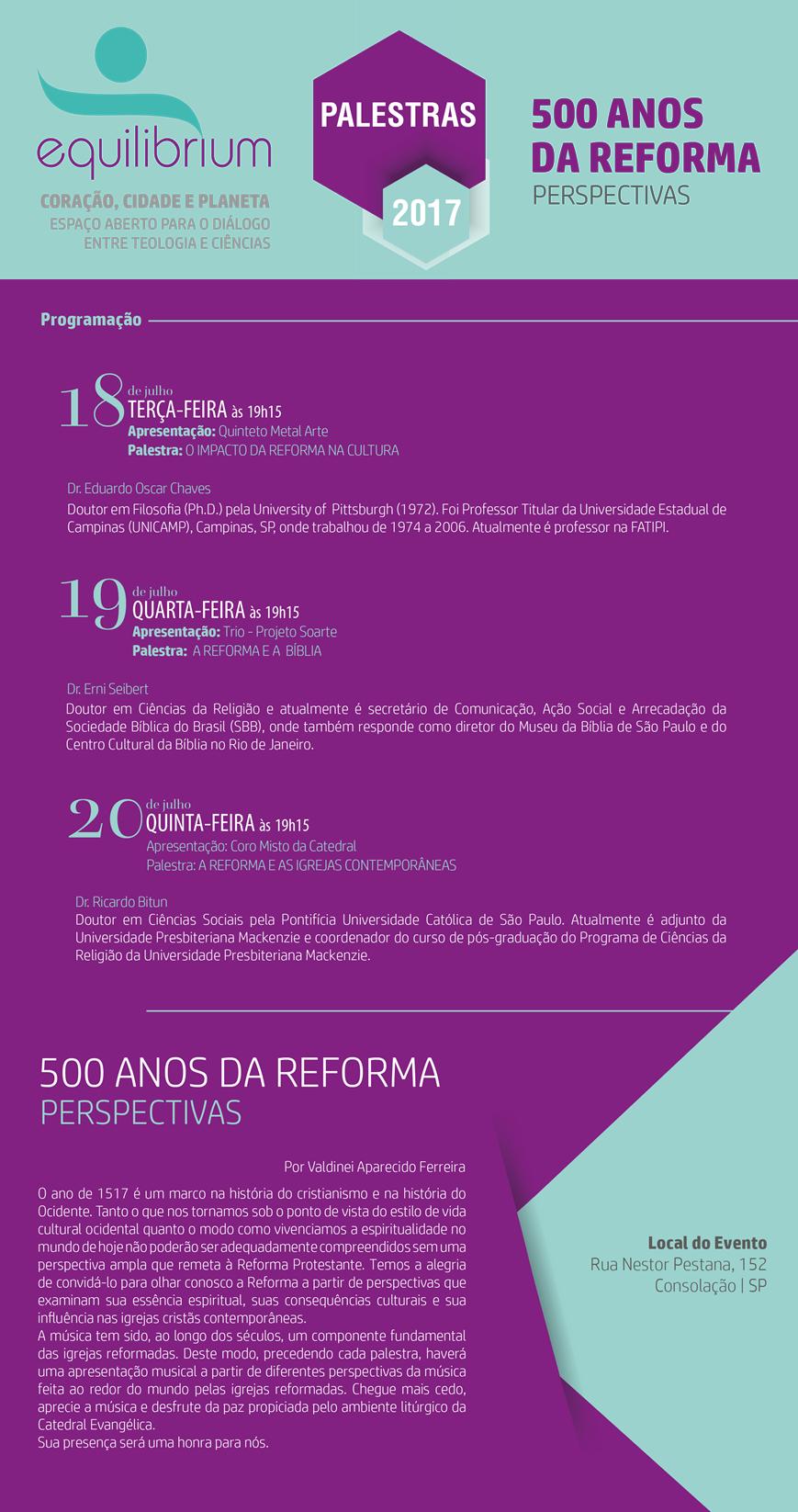 Catedral - 500 Anos da Reforma
